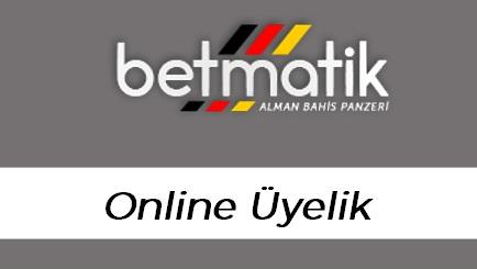 Betmatik Online Üyelik