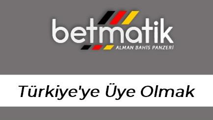 Betmatik Türkiye'ye Üye Olmak